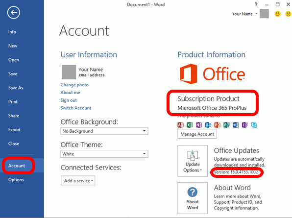 download office 2016 updates manually