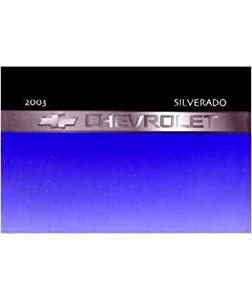 2003 chevrolet silverado owners manual free download