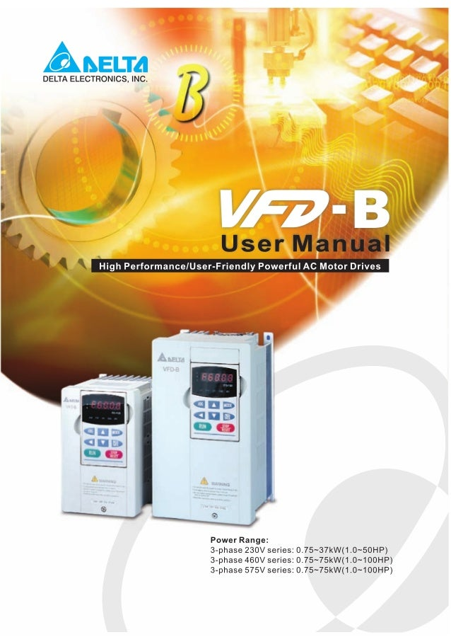 delta vfd series manual pdf