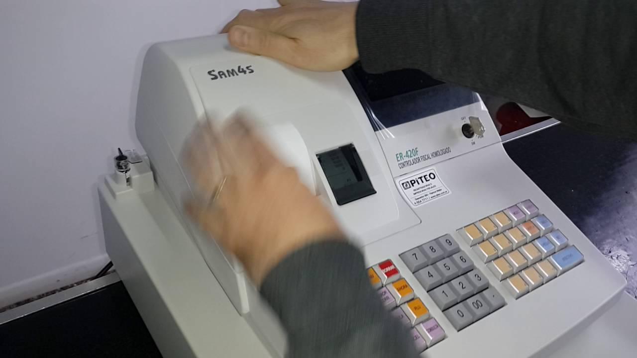manual caja registradora samsung er 290