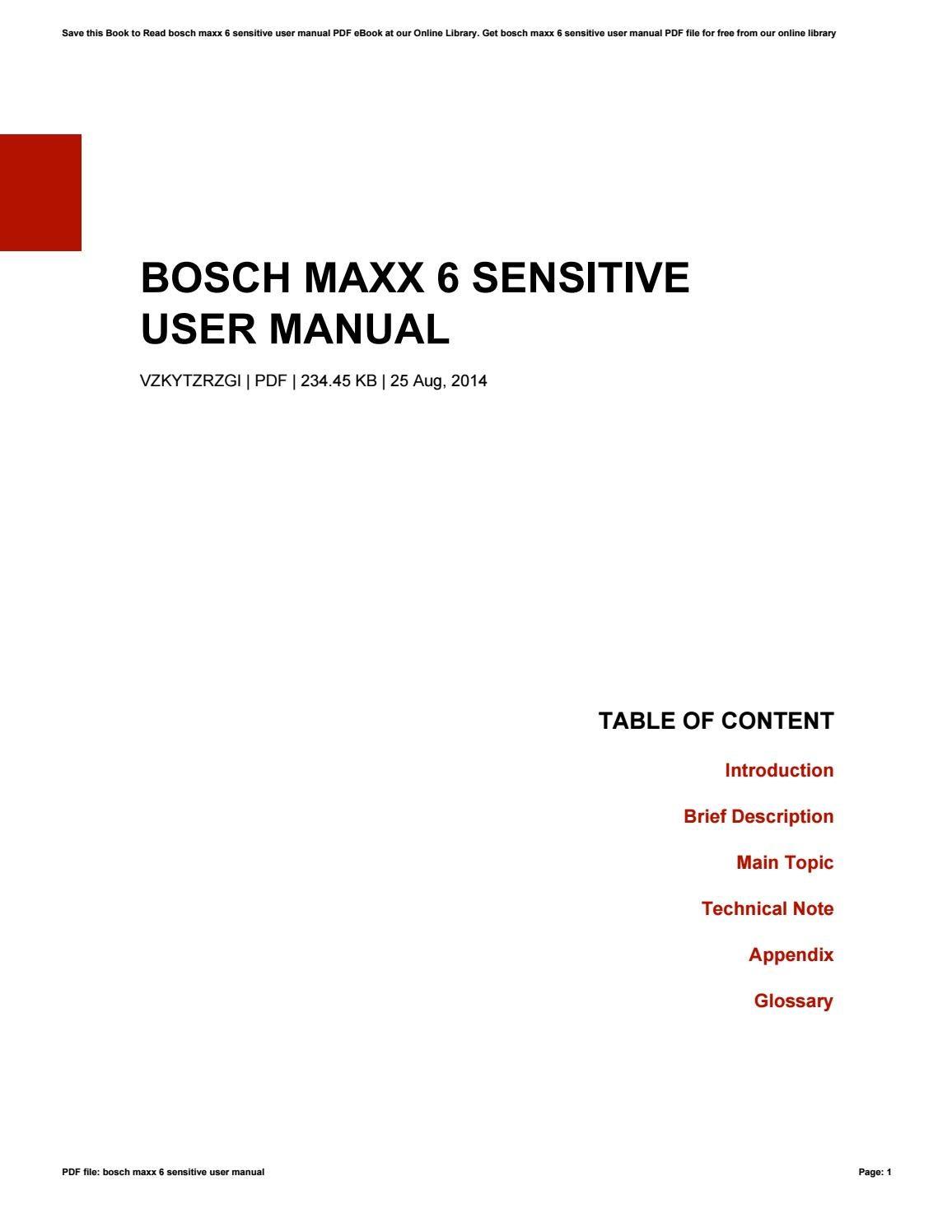 manual for bosch model shxm65w55n