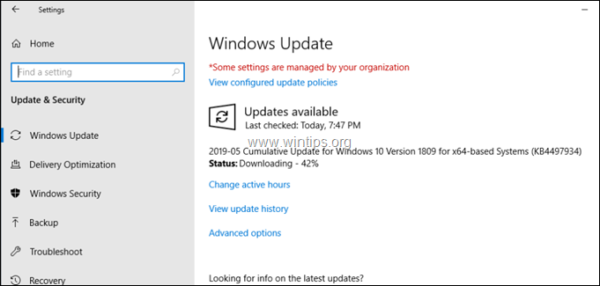 download error failed windows 10 updates how to manually install