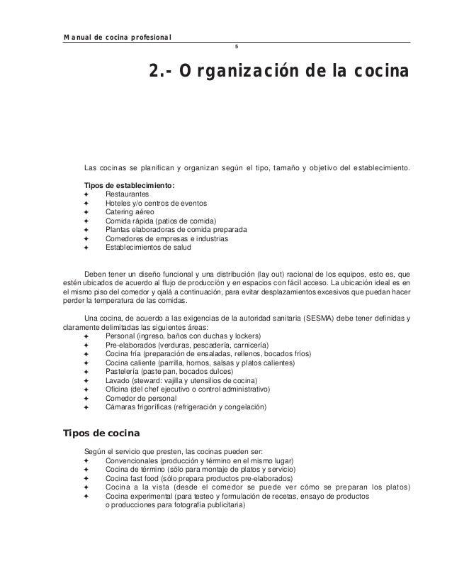 manual de cocina profesional pdf