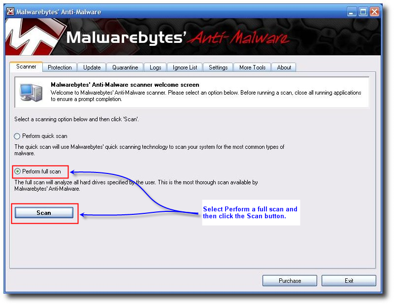 malwarebytes virus definitions manual download