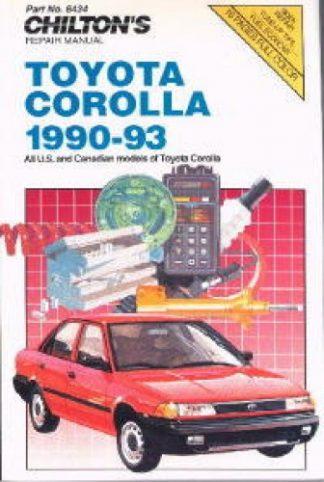 1995 toyota corolla repair manual pdf
