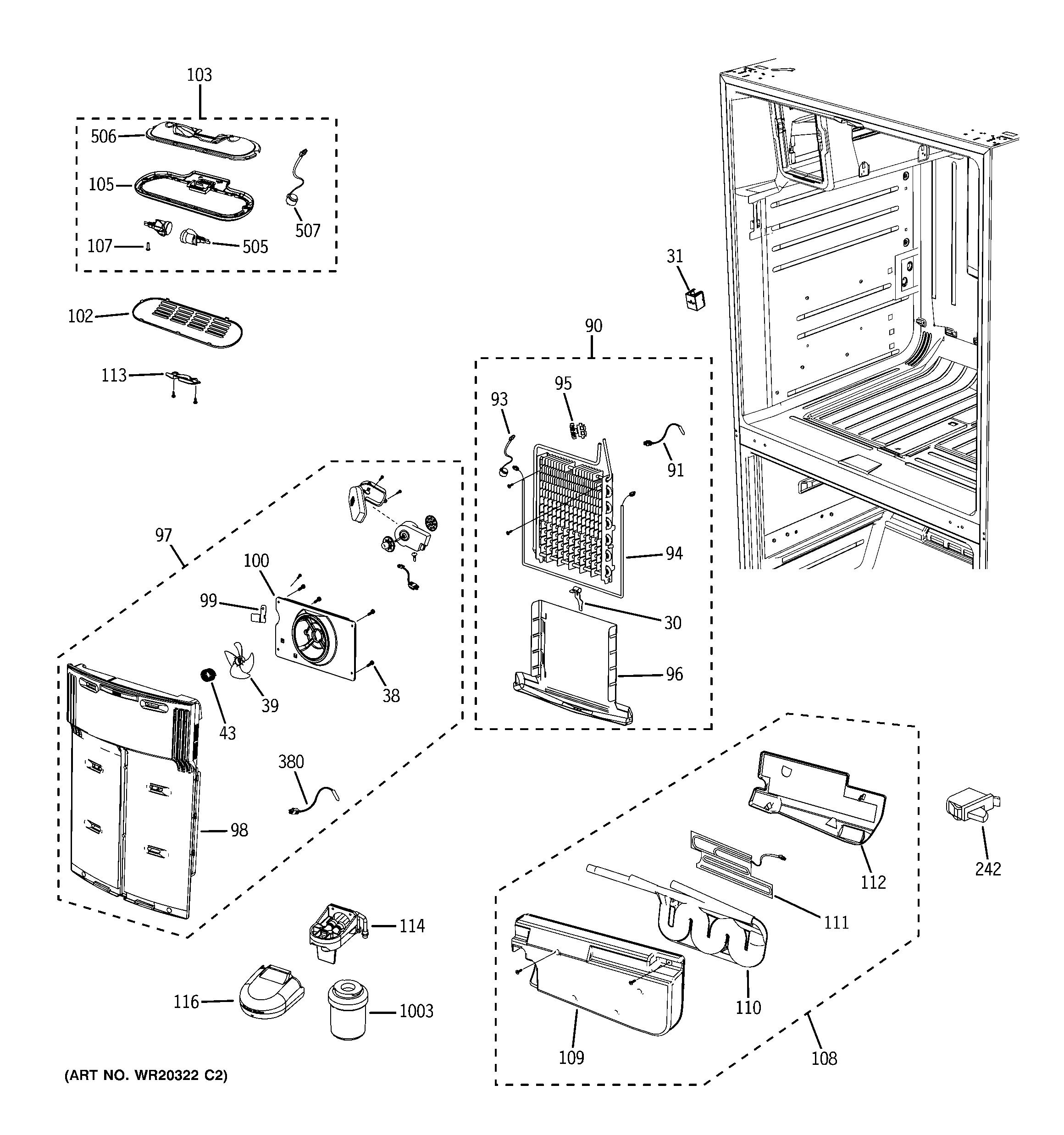 ge refrigerator model gfss6kkxass manual