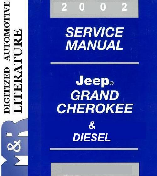 2002 jeep grand cherokee repair manual pdf free