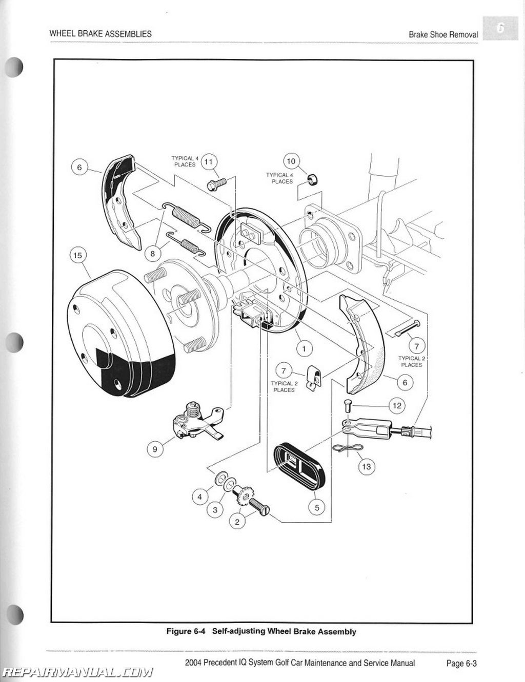 2004 club car service manual download