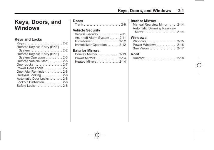 2005 chevy impala manual pdf