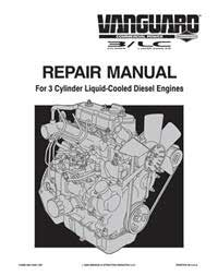 maintance manual for briggs and stratton vanguard 23 hp