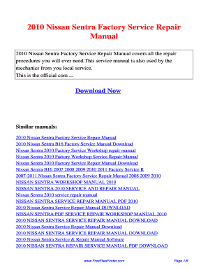 1997 nissan sentra owners manual download