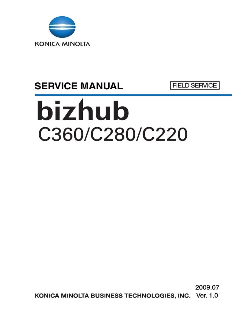 konica minolta bizhub c35 manual pdf