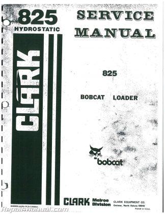 bobcat model 843 service manual