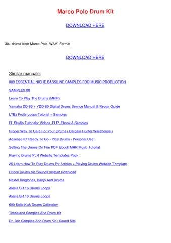 fruity loops 9 manual pdf free download