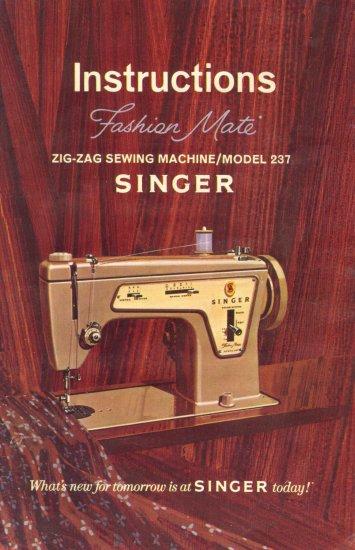 singer model 347 manual pdf