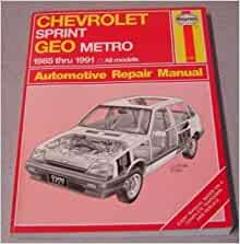geo metro repair manual download