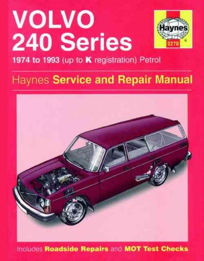 1992 volvo 240 repair manual pdf