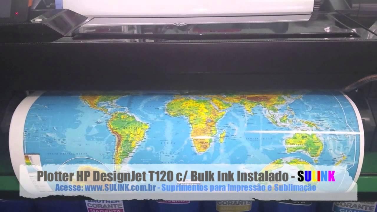 plotter hp designjet t120 manual
