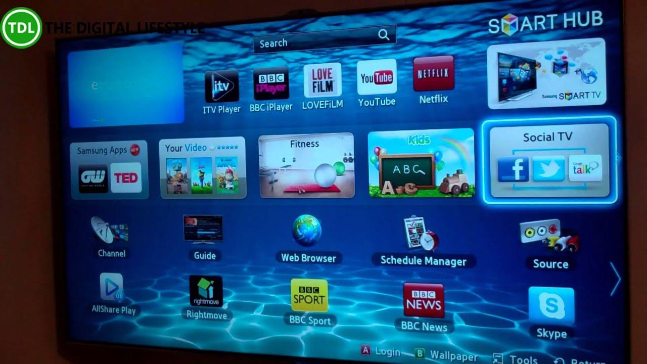 samsung series 8 smart tv manual
