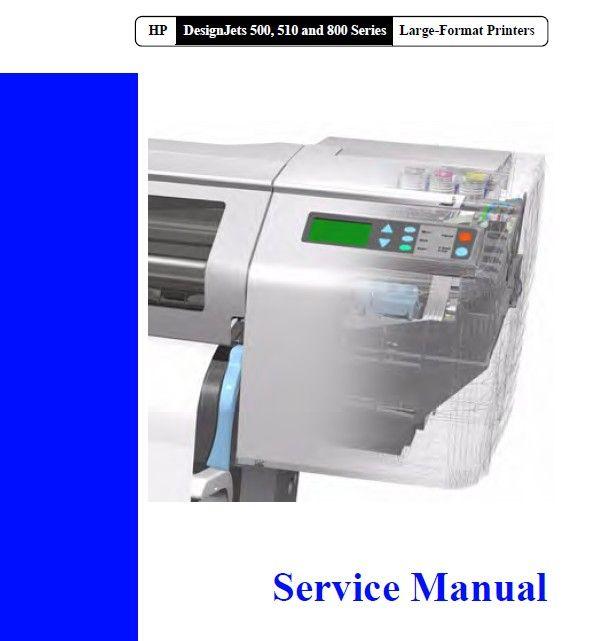 hp designjet 111 service repair manual