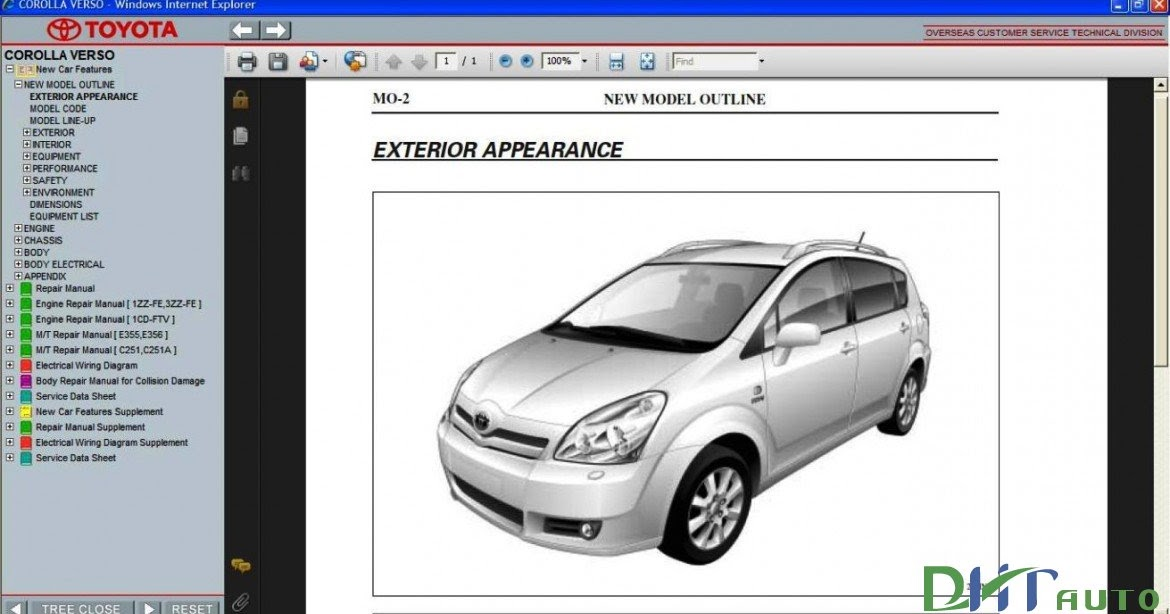 2008 toyota corolla repair manual pdf