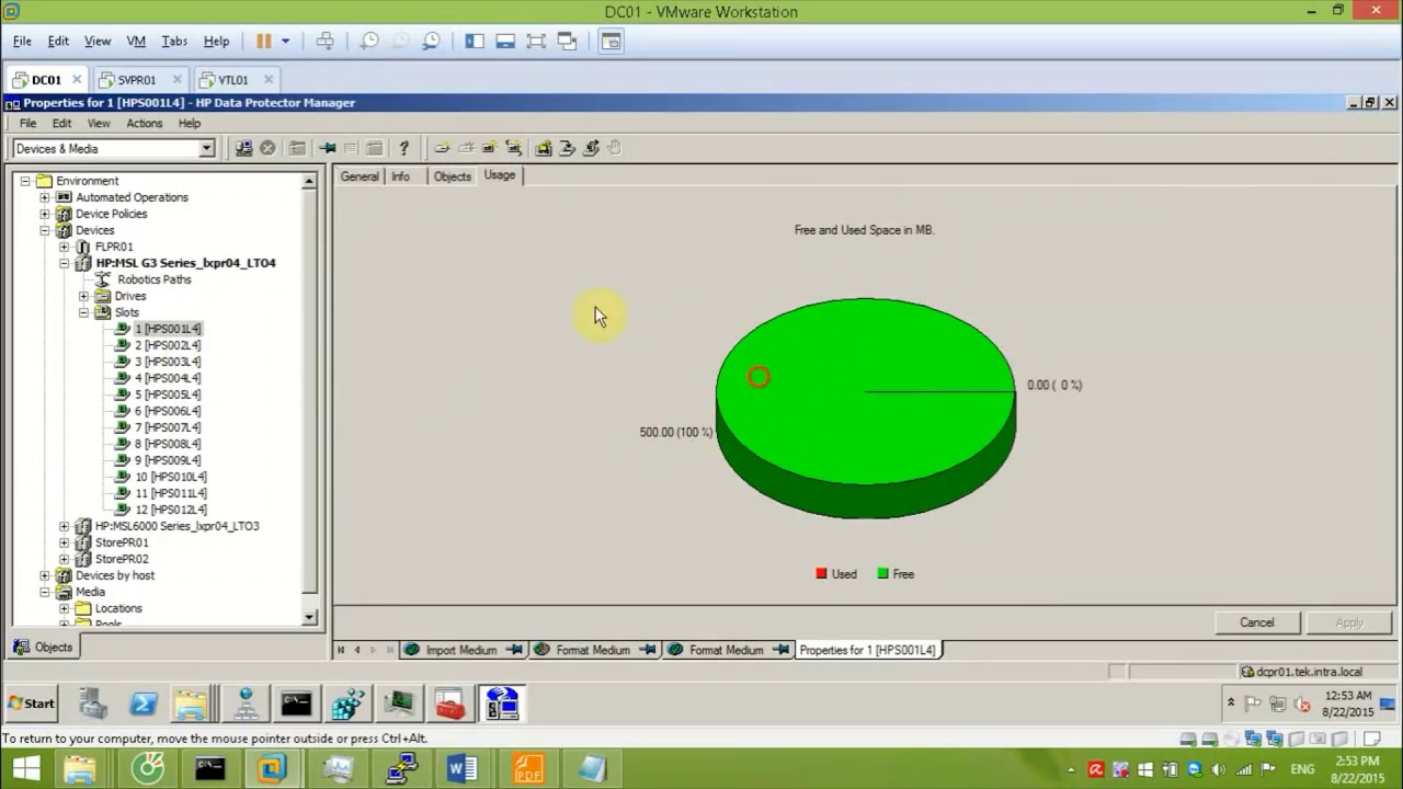 hp data protector manager manual