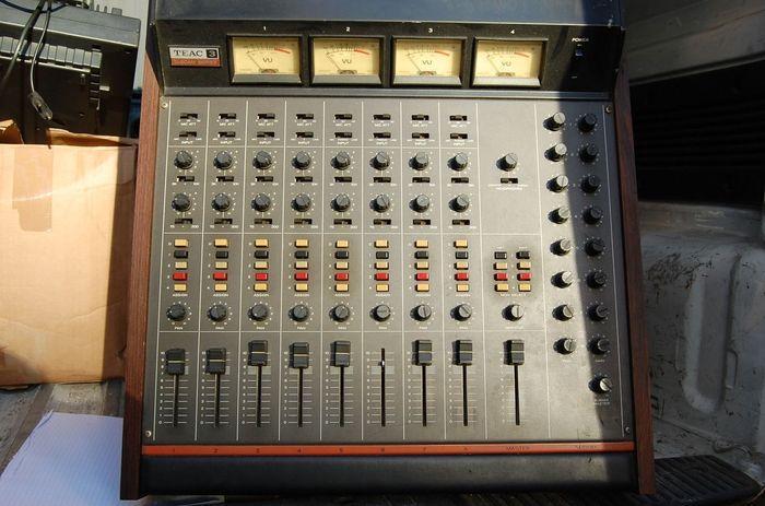 teac model 5 mixer manual