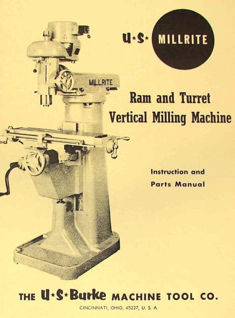 bfw milling machine manual pdf