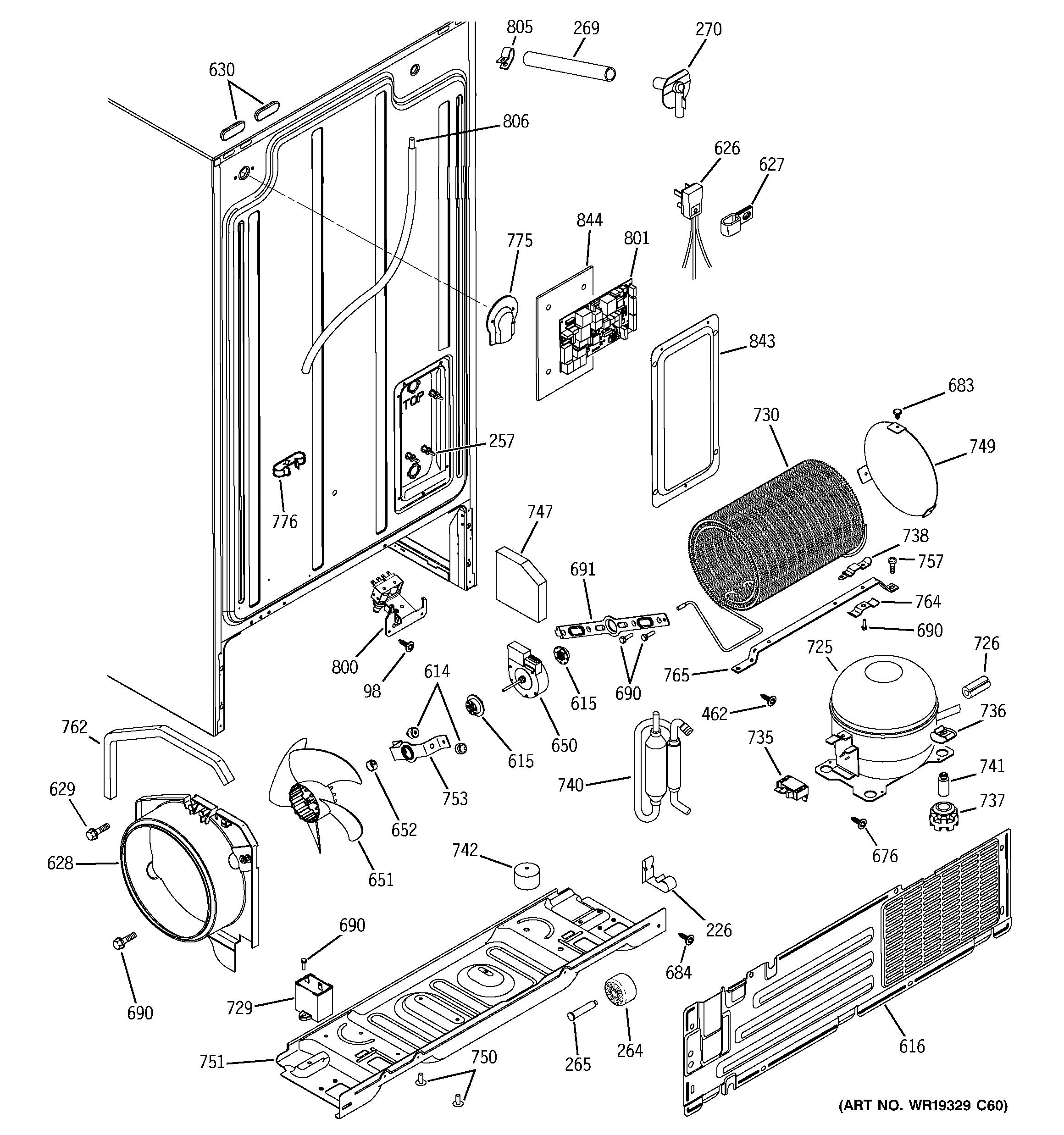 ge refrigerator model gsh25jsrfss manual
