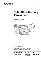 sony pmw ex1r manual pdf