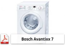 bosch avantixx 8 manual pdf