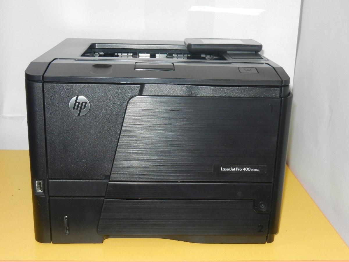 impresora hp laserjet pro 400 m401dn manual