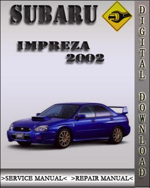 pdf free service manual downloads subaru impreza