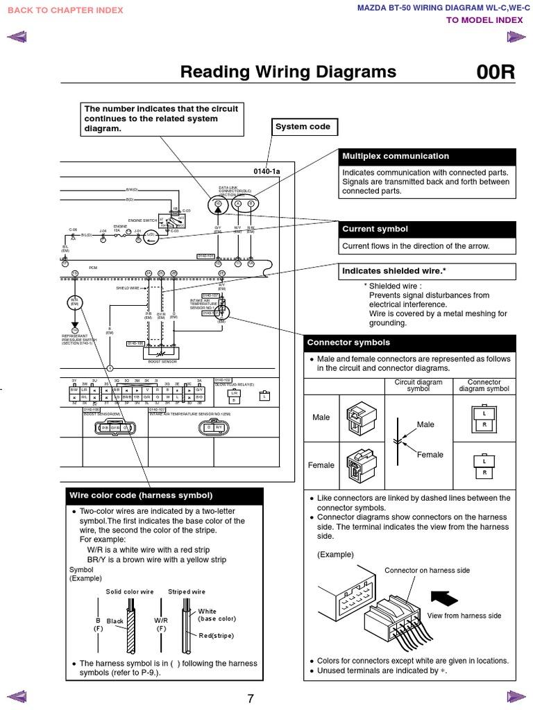 2007 mazda bt 50 service manual free download