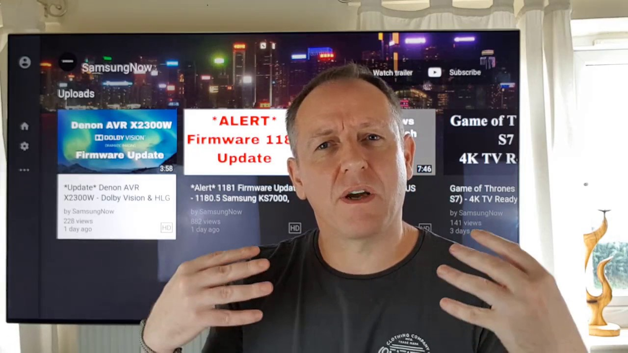 manually update samsung tv firmware