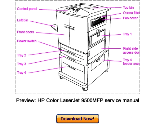 hp cp2025 printer service manual