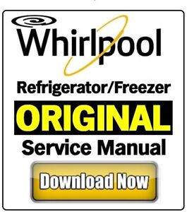manual whirlpool refridgerator model wrb322dmbw