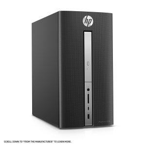 hp pavilion desktop 570 p030 manual