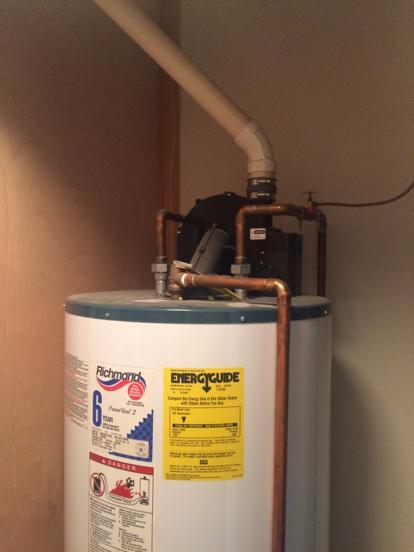 richmond water heater model 6gr50pve2-42 manual
