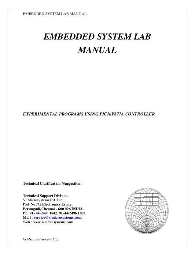 ec6711 embedded lab manual download