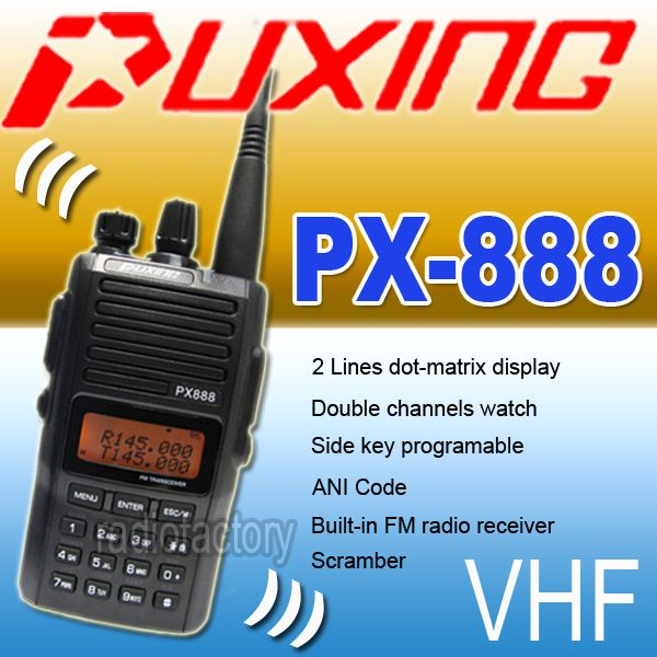 puxing px 888 manual download