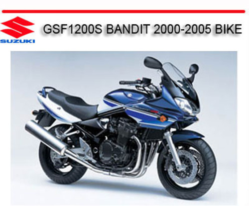 suzuki bandit 1200 service manual download