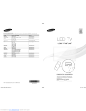 led tv user manual samsung series 6 pdf
