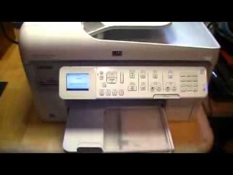 manually clean printhead hp photosmart c4795