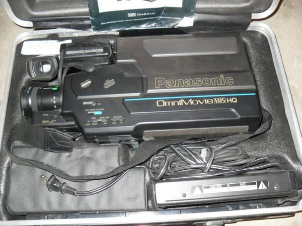 manual for and panasonic omni movie model pv-320d
