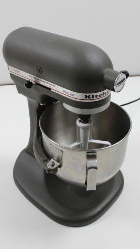 kitchenaid mixer model ksm5 manual