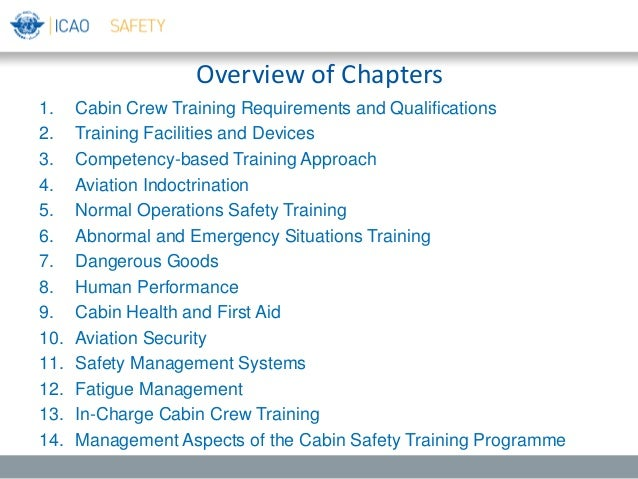cabin crew training manual pdf
