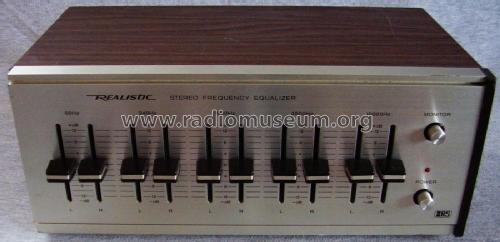 user manual realistic stereo equalizer model 31-1987 radio shack