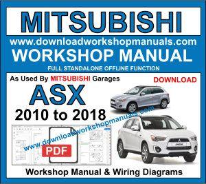 mitsubishi asx workshop manual free download