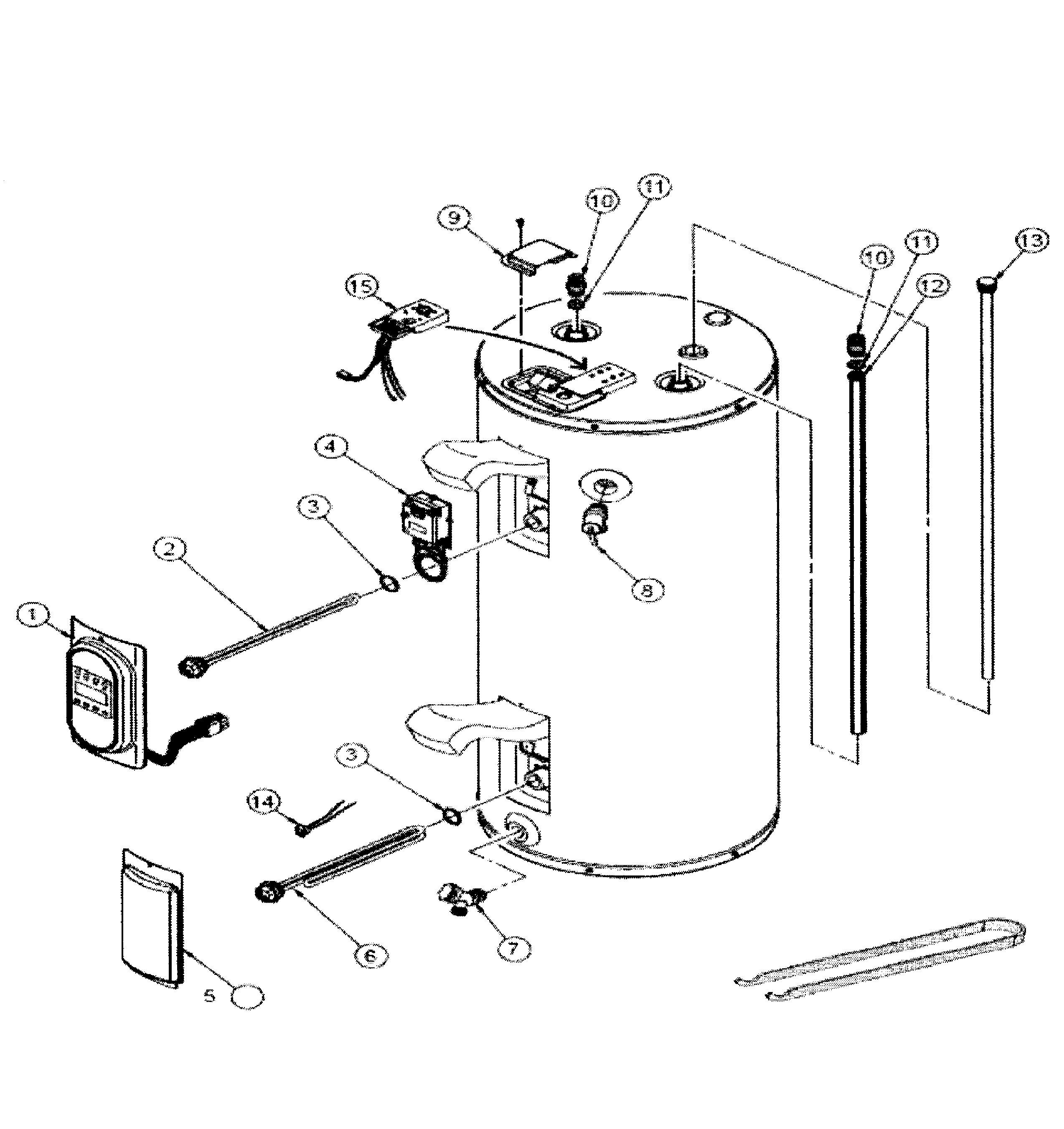 ge water heater model number pg40s9b manual